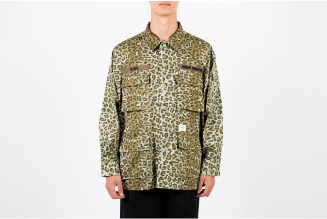 Jungle 01 / LS / Cotton. Twill. Camo