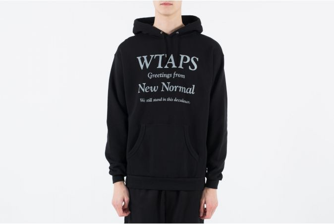 New Normal / Hooded Sweatshirt