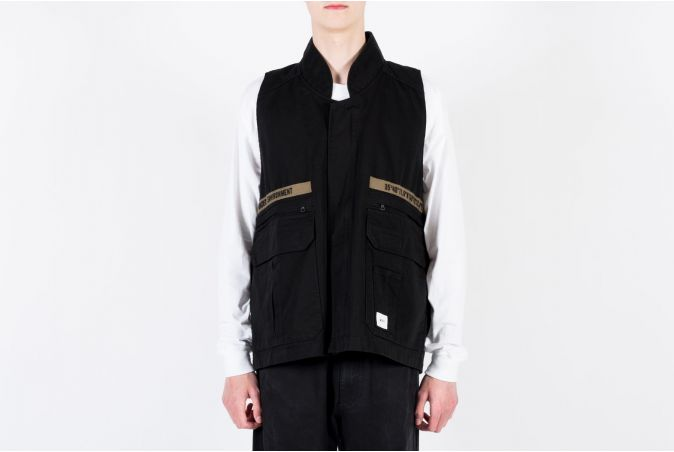 Rep / Vest / Cotton. Twill