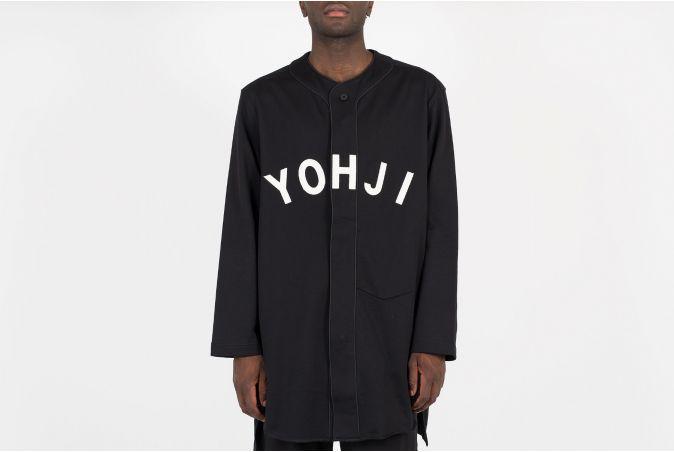 Yohji Letters Baseball Shirt