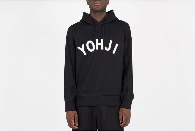 Yohji Letters Hoodie