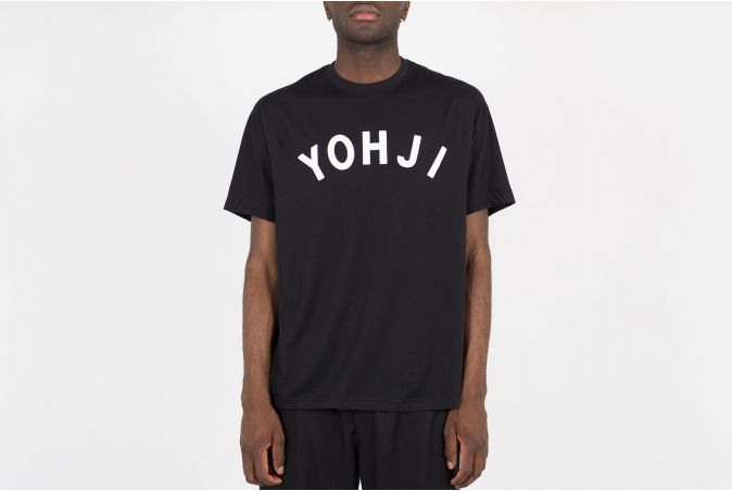 Yohji Letters SS Tee